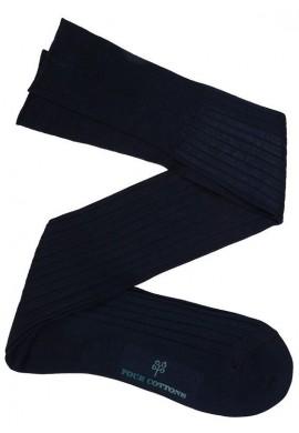 Calcetín Hilo de Escocia Azul Marino
