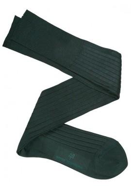 Calcetín Hilo de Escocia Verde Oscuro