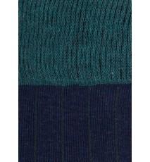 Azul marino - Verde campo - Detalle