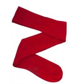 Calcetín Hilo de Escocia Rojo