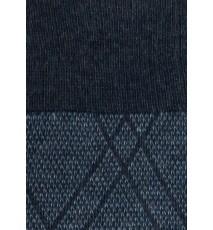 Calcetines de rombos en tonos azules