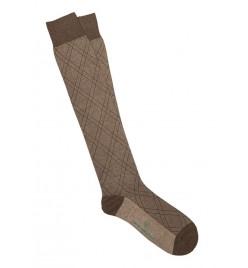Calcetines de Rombos en terra y corda