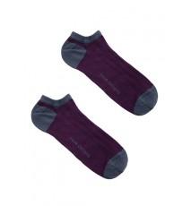 Calcetines tobilleros mirtillo
