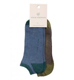 Pack de calcetines tobilleros Oceano y Terra