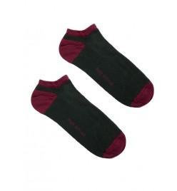 Calcetines tobilleros Verde Oscuro
