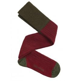 calzas lana Vino Verde Oscuro