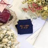 Regalos originales y personalizados el día de tu boda  No se nos ocurre mejor idea que nuestros calcetines con vuestras iniciales, nombres, fecha... de vuestro gran día. Nos encanta que confiéis en nosotros para días tan importantes💛☺️  #fourcottons #calcetines #socks #cotton #algodon #regalosoriginales #regalos #boda #personalizados #regalospersonalizados #bordado #madeinspain #losautenticos