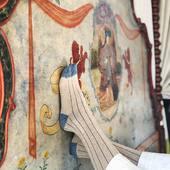 Nos quedamos alucinados con esta maravilla de cabecero del Parador de Oropesa. No pudimos resistirnos a hacerle unas cuantas fotos🤍 De alucinar!  #fourcottons #socks #calcetines #algodon #cotton #regalosoriginales #regalos #regalospersonalizados #look #lookoftheday #madeinspain #losautenticos